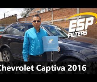 Embedded thumbnail for Cambio Filtro de Aire Acondicionado Chevrolet Captiva Sport 2016